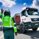 Las inspecciones de la DGT ponen a prueba la responsabilidad de los transportistas