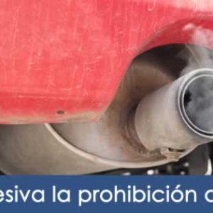 Retirar coches combustión
